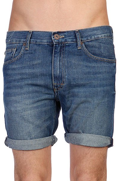 Шорты джинсовые Quiksilver Kracker Denim Short Worn Out Proskater.ru 1799.000