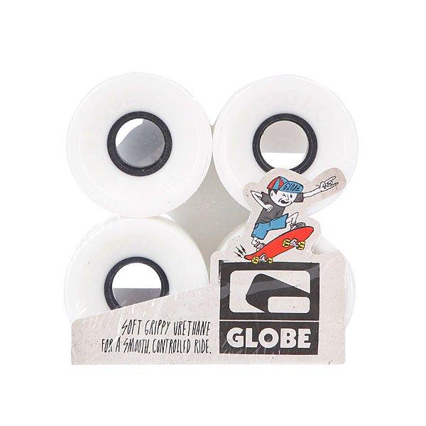 Колеса для скейтборда Globe Bantam St Wheel White/Black 59mm 83A<br><br>Цвет: белый<br>Тип: Колеса