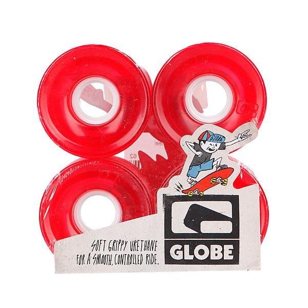 Колеса для скейтборда для лонгборда Globe Bantam Wheel Clear Red 83A 62 mmДиаметр:62 mmЖесткость:83AЦена указана за комплект из 4-х колес<br><br>Цвет: красный<br>Тип: Колеса для лонгборда