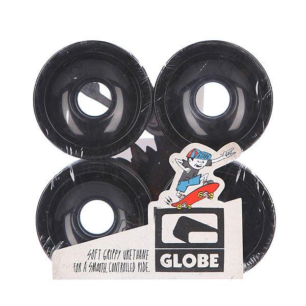 Колеса для скейтборда Globe G Icon Wheel Black 70mm 83A<br><br>Цвет: черный<br>Тип: Колеса