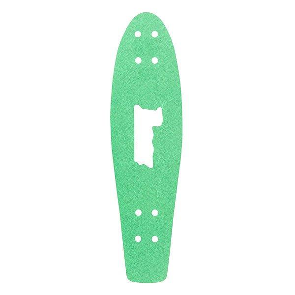 Шкурка для скейтборда для лонгборда Penny Griptape Green 27(68.6 см)