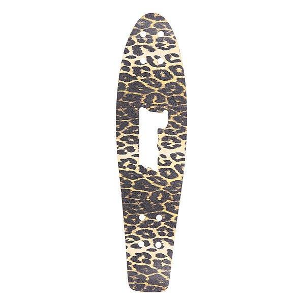 Шкурка для скейтборда для лонгборда Penny Griptape Leopard 27(68.6 см)Оригинальная шкурка для дек Penny 27(68.6 см)<br><br>Цвет: бежевый,черный<br>Тип: Шкурка для лонгборда