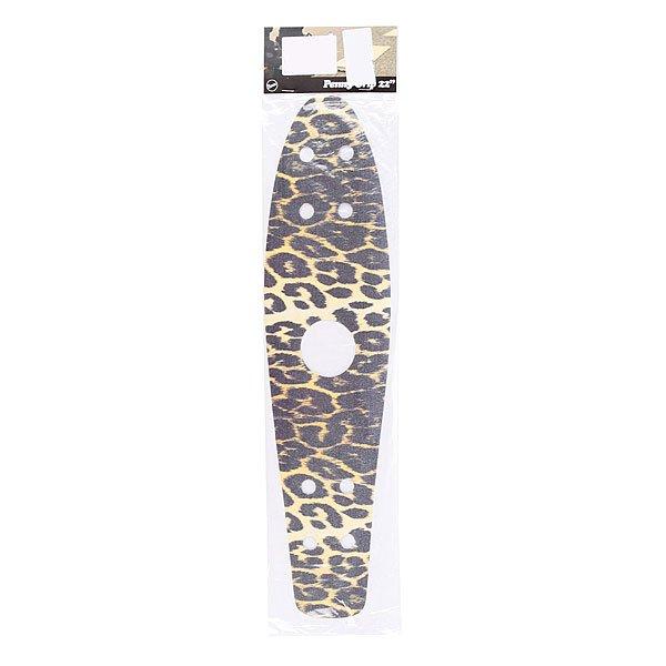 Шкурка для скейтборда для лонгборда Penny Griptape Leopard 22(55.9 см)