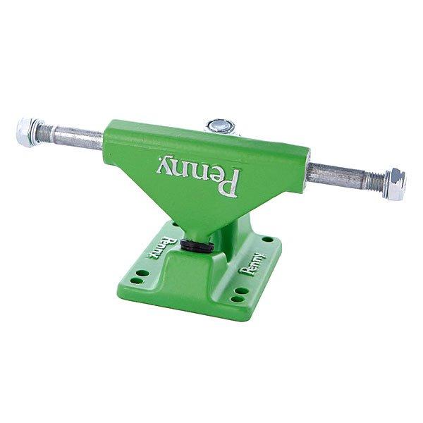 Подвески для скейтборда для лонгборда 2шт. Penny Trucks Green 3.125(14.9 см)Оригинальные подвески для дек Penny 22(55.9 см)<br><br>Цвет: зеленый<br>Тип: Подвески для лонгборда