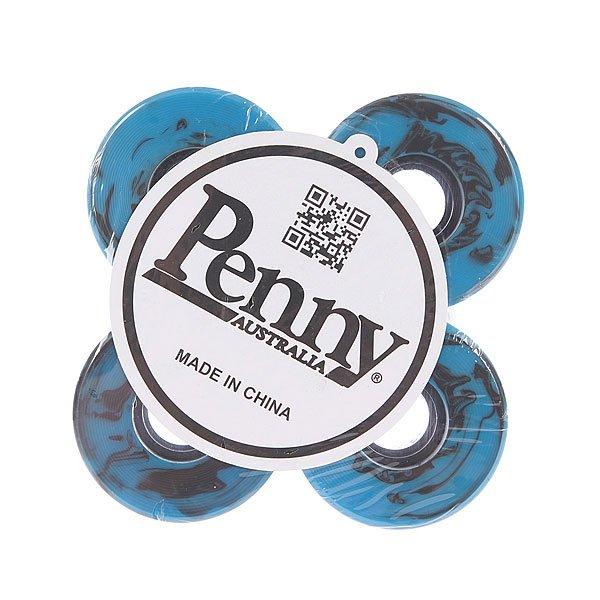 Колеса для скейтборда для лонгборда Penny Swirl Wheels Blue/Black 59mm 79АКолеса Penny. Подойдут для круизеров и лонгбордов.<br><br>Цвет: синий,черный<br>Тип: Колеса для лонгборда
