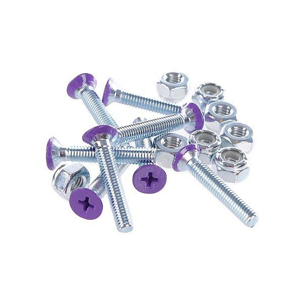 Винты для лонгборда Penny Deck Bolts Purple Phillips 1 1/8Размер: 1.125 Тип винтов: Для крестовой отвертки  Цена указана за 1 комплект из 8 винтов и 8 гаек<br><br>Цвет: фиолетовый<br>Тип: Винты для лонгборда