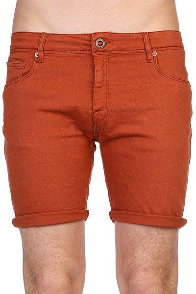 Шорты джинсовые Volcom Chili Chocker Denim Short Copper<br><br>Цвет: коричневый<br>Тип: Шорты джинсовые<br>Возраст: Взрослый<br>Пол: Мужской