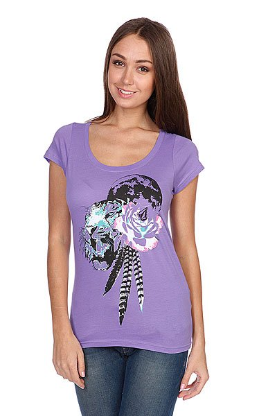 �������� ������� Volcom Fancy Ss Vibrant Purple
