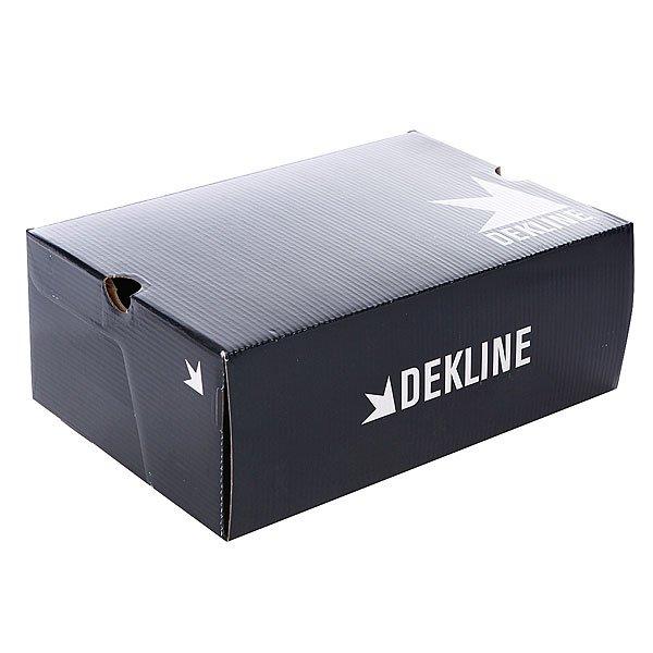 Кеды кроссовки низкие Dekline Daily Ivy Green/White