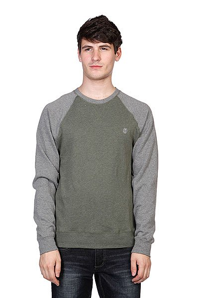 цена Свитшот Element Vermont Cr Grey Heather онлайн в 2017 году