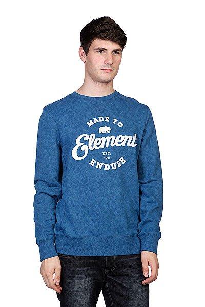 Свитшот Element Russel Dark Denim<br><br>Цвет: синий<br>Тип: Толстовка свитшот<br>Возраст: Взрослый<br>Пол: Мужской