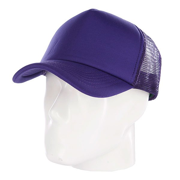 Бейсболка с сеткой TrueSpin Basic Trucker Purple<br><br>Цвет: фиолетовый<br>Тип: Бейсболка с сеткой<br>Возраст: Взрослый<br>Пол: Мужской