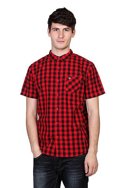 Купить Рубашки   Рубашка в клетку Rip Curl The Spit S/S Shirt Poinsettia Red