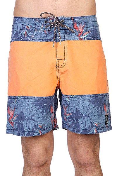 Шорты Rip Curl Tth Trunk 18 Orange/Blue<br><br>Цвет: оранжевый,синий<br>Тип: Шорты<br>Возраст: Взрослый<br>Пол: Мужской