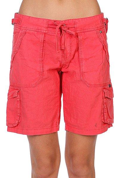 Шорты женские Rip Curl Redondo Walkshort Fiery Coral<br><br>Цвет: красный<br>Тип: Шорты<br>Возраст: Взрослый<br>Пол: Женский