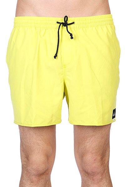 Шорты пляжные Quiksilver Morocco Volley E15 Citric Acid<br><br>Цвет: желтый<br>Тип: Шорты пляжные<br>Возраст: Взрослый<br>Пол: Мужской