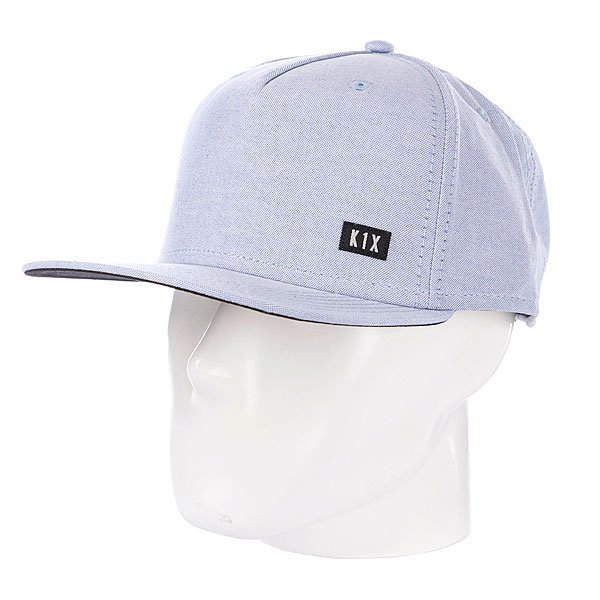 Бейсболка K1X Oxford Snapback Cap Blue/White