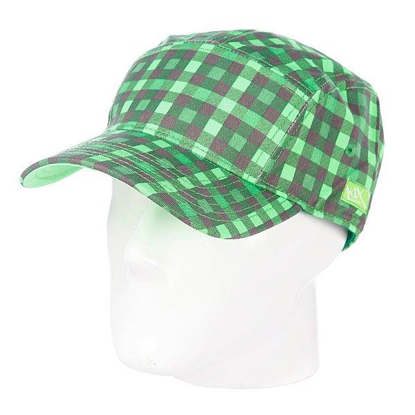 Бейсболка пятипанелька K1X 5 Panel Cap Apple Green/Neon Green/Castle Grey<br><br>Цвет: зеленый,черный<br>Тип: Бейсболка пятипанелька<br>Возраст: Взрослый