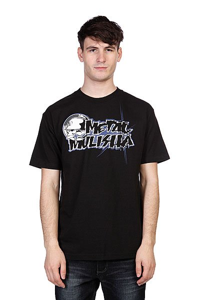 Футболка Metal Mulisha Colab-Mens Black metal mulisha футболка metal mulisha quartered black