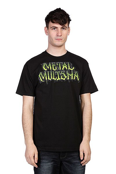Футболка Metal Mulisha Mah-Mens Black metal mulisha футболка metal mulisha quartered black