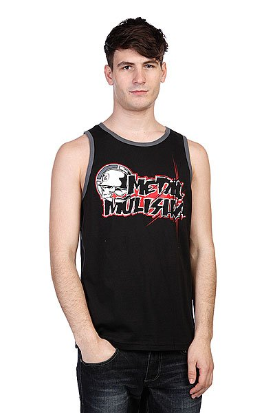 ����� Metal Mulisha Colab Tank Black