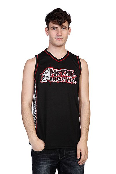Майка Metal Mulisha Mission Black майка metal mulisha novelty tank black