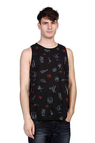 Майка Metal Mulisha Novelty Tank Black майка metal mulisha novelty tank black