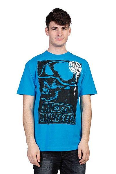Футболка Metal Mulisha Rise Up Turquoise<br><br>Цвет: голубой<br>Тип: Футболка<br>Возраст: Взрослый<br>Пол: Мужской