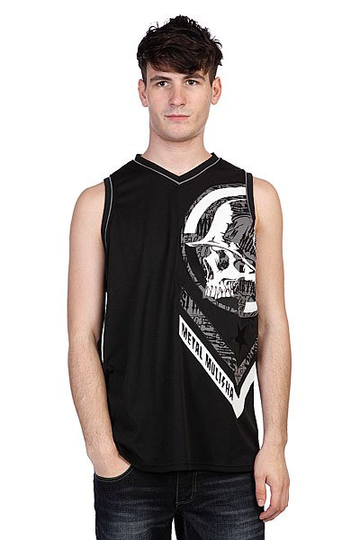 Майка Metal Mulisha Gearbox Jersey Black майка metal mulisha novelty tank black