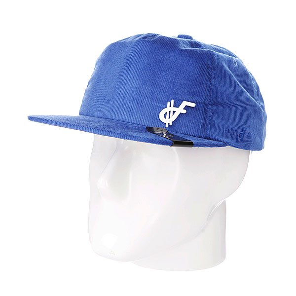 Бейсболка Flat Fitty El Porto Blue<br><br>Тип: Бейсболка с прямым козырьком<br>Возраст: Взрослый