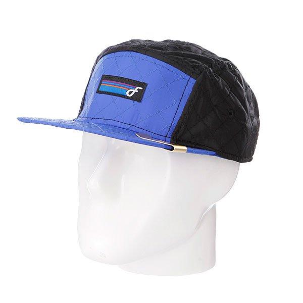 Бейсболка Flat Fitty Polar Blue<br><br>Тип: Бейсболка пятипанелька<br>Возраст: Взрослый<br>Пол: Мужской