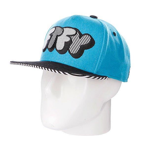Бейсболка Flat Fitty Pop Type Blue<br><br>Тип: Бейсболка с прямым козырьком<br>Возраст: Взрослый