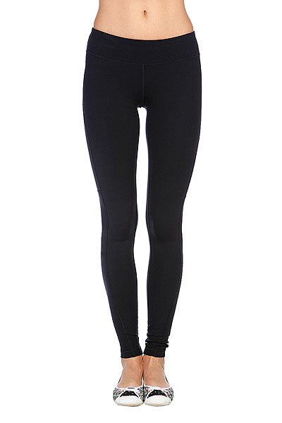Леггинсы женские Roxy Standard Tight Of True Black Proskater.ru 1449.000