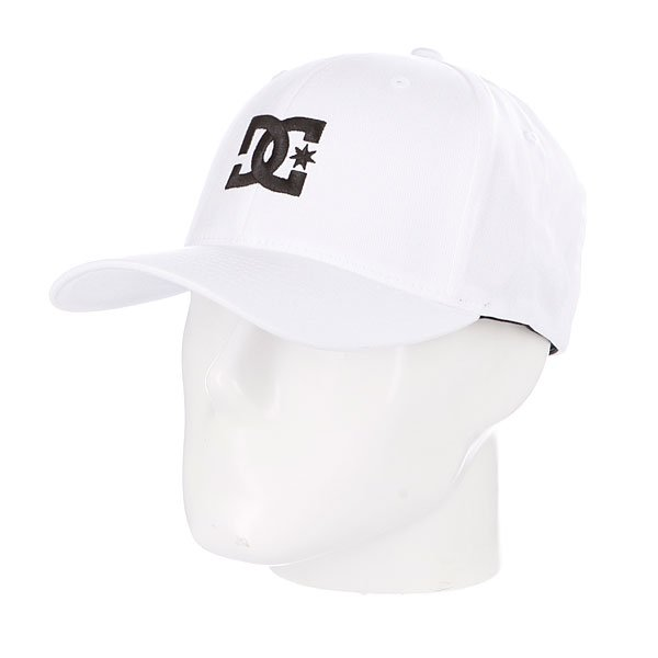 Бейсболка Flexfit DC Cap Star 2 Flexfit White<br><br>Цвет: белый<br>Тип: Бейсболка классическая<br>Возраст: Взрослый<br>Пол: Мужской