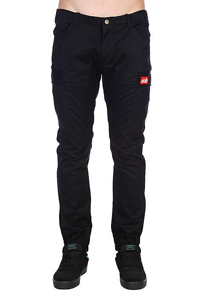 Штаны Skills Chino Pocket Black Proskater.ru 1950.000