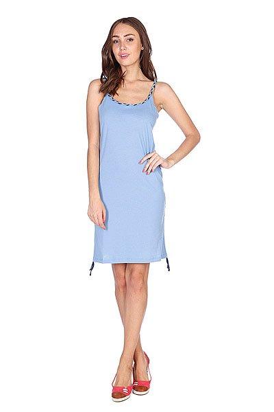 Платье женское Picture Organic Move Upp Light Blue<br><br>Цвет: голубой<br>Тип: Платье<br>Возраст: Взрослый<br>Пол: Женский