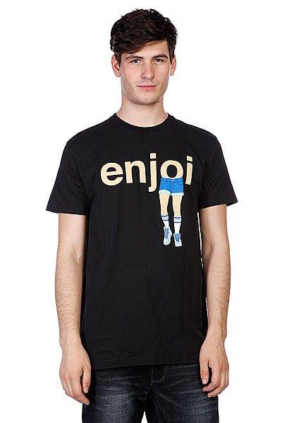 Футболка Enjoi Faux Pas Premium Black<br><br>Цвет: черный<br>Тип: Футболка<br>Возраст: Взрослый<br>Пол: Мужской