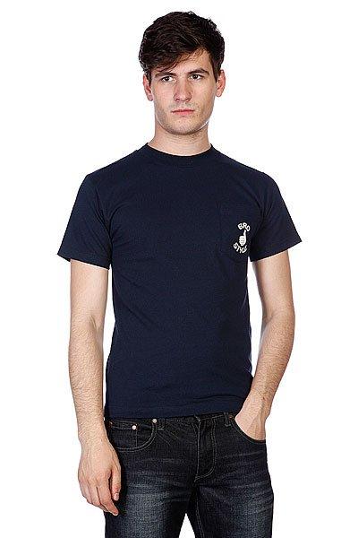 Футболка Bro Style Pocket Black<br><br>Цвет: синий<br>Тип: Футболка<br>Возраст: Взрослый<br>Пол: Мужской