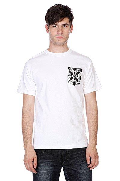 Футболка Sk8mafia Bandana Pocket White<br><br>Цвет: белый<br>Тип: Футболка<br>Возраст: Взрослый<br>Пол: Мужской
