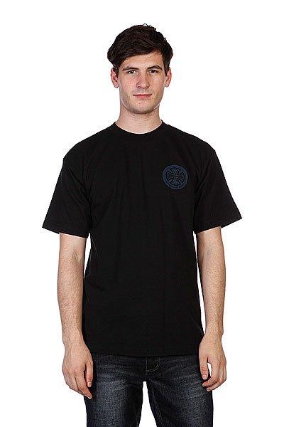 Футболка Independent Ami Logo Black<br><br>Цвет: черный<br>Тип: Футболка<br>Возраст: Взрослый<br>Пол: Мужской