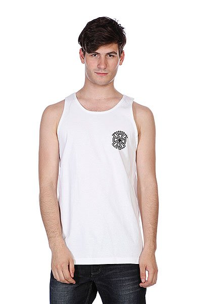 Майка Independent Bauhaus Cross Tank White michael siebenbrodt bauhaus