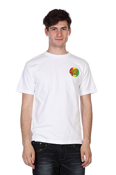 Футболка Santa Cruz Lion God White<br><br>Цвет: белый<br>Тип: Футболка<br>Возраст: Взрослый<br>Пол: Мужской