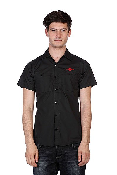 Рубашка Independent Daily Grind Black<br><br>Цвет: черный<br>Тип: Рубашка<br>Возраст: Взрослый<br>Пол: Мужской