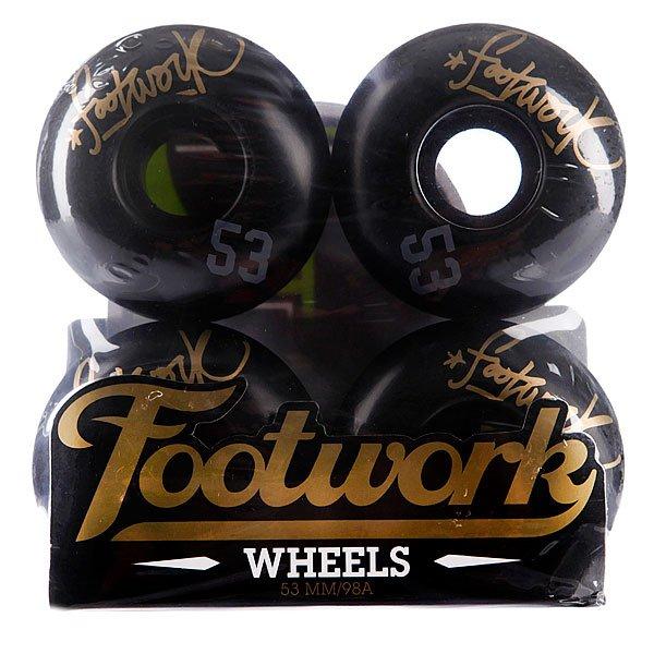 Колеса для скейтборда для скейтборда Footwork Tag 98A 53 mmФорма ROUND SHAPE:С этой формы колес начался современный скейтбординг! Характеристики:Слегка увеличенная площадь сцепления колеса с покрытием для большей стабильности на любой скорости.Жесткость 98A:Чуть мягче обычного.<br><br>Цвет: черный<br>Тип: Колеса для скейтборда