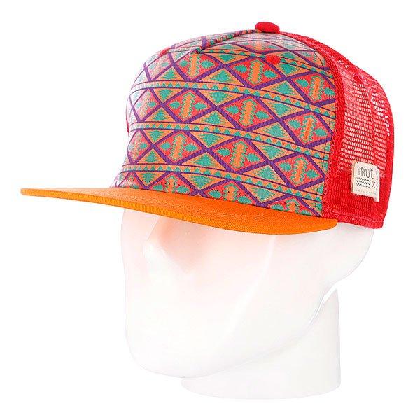 Бейсболка True Spin Inka Orange<br><br>Цвет: красный,оранжевый<br>Тип: Бейсболка с сеткой<br>Возраст: Взрослый<br>Пол: Мужской