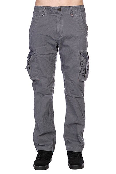 Штаны Rip Curl Trail Cargo Pant Charcoal Grey Proskater.ru 3029.000