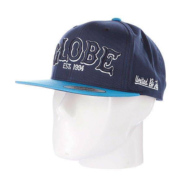 Бейсболка Globe Hitters Cap Navy/Blue<br><br>Цвет: синий<br>Тип: Бейсболка с прямым козырьком<br>Возраст: Взрослый