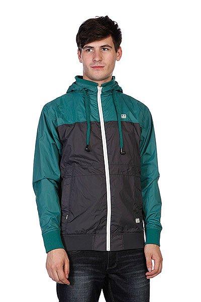 Ветровка с наушниками Globe Guildford Jacket Foli Green<br><br>Цвет: зеленый,черный<br>Тип: Ветровка<br>Возраст: Взрослый<br>Пол: Мужской