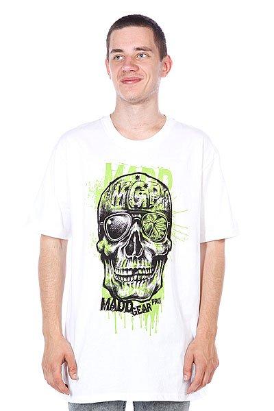 Футболка MGP T-shirt Bonehead White<br><br>Цвет: белый<br>Тип: Футболка<br>Возраст: Взрослый<br>Пол: Мужской