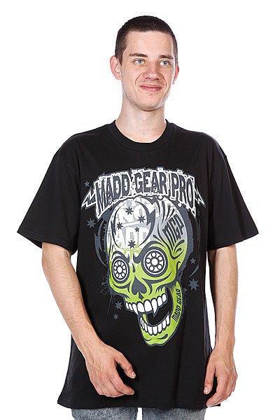 Футболка MGP T-shirt Muerte Skull Black<br><br>Цвет: черный<br>Тип: Футболка<br>Возраст: Взрослый<br>Пол: Мужской